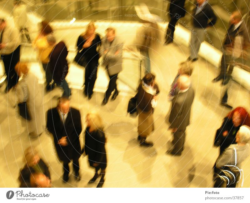 Human being Assembly Movement Wait Multiple Meeting Foyer