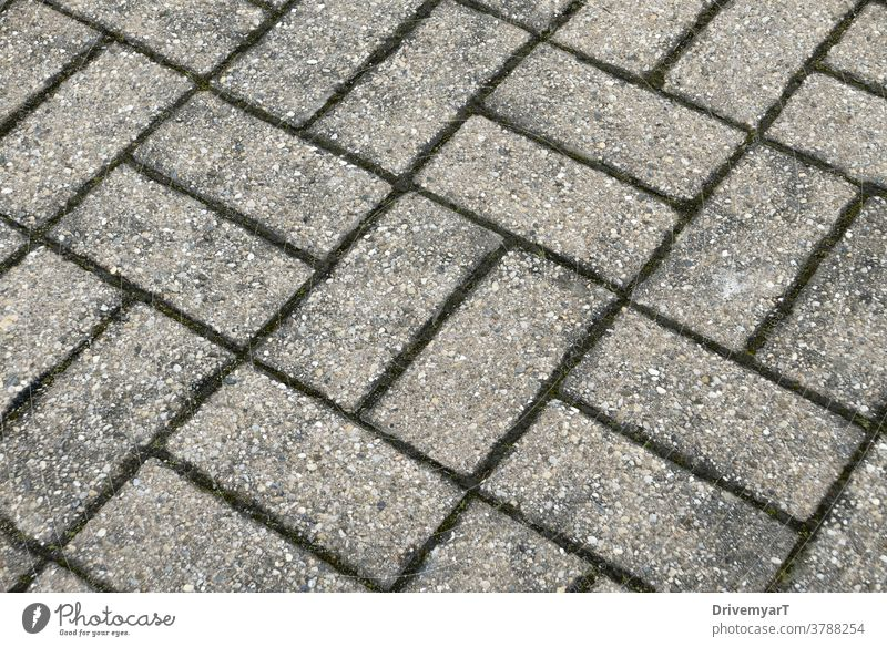 Rectangles floor pattern (diagonal top angle view) rectangle rectangles asphalt ground stone grey geometry geometric background exterior rough scratchy harsh