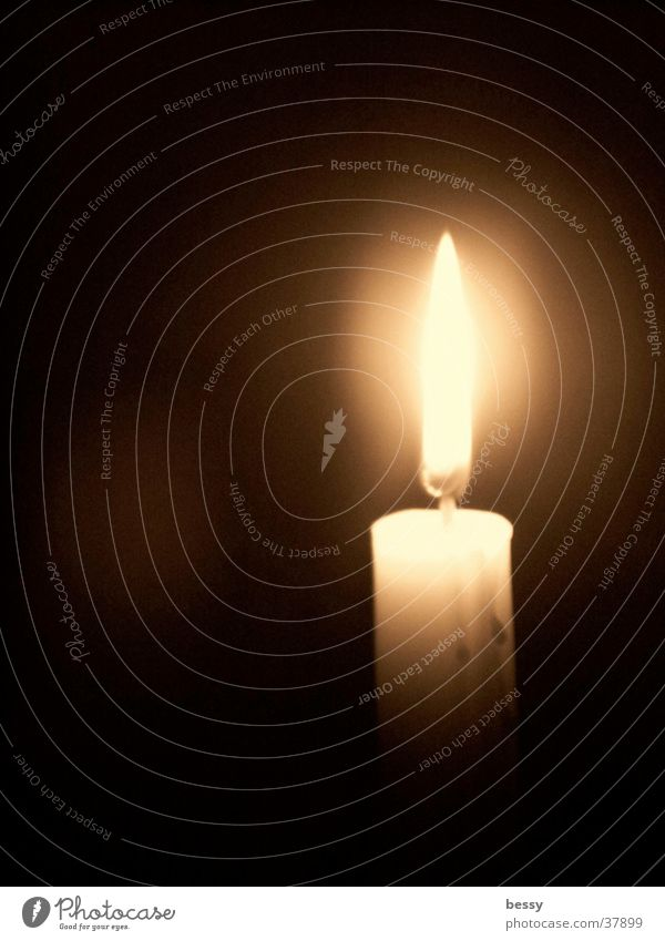Light into the darkness Candle Dark Things Light (Natural Phenomenon) Flame Bright