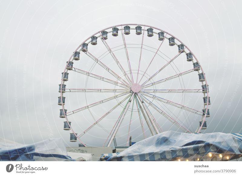 Ferris wheel Fairs & Carnivals Markets Showman Theme-park rides Leisure and hobbies Vertigo Sky Rotate Oktoberfest Amusement Park Round cabin Rotation