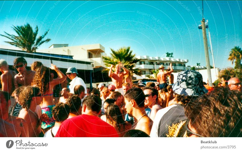 bora bora Ibiza Bora Bora Beach Party Europe Party goer Exterior shot Summer