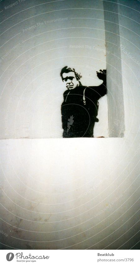 Steve McQueen Ibiza Spray Photographic technology Graffiti