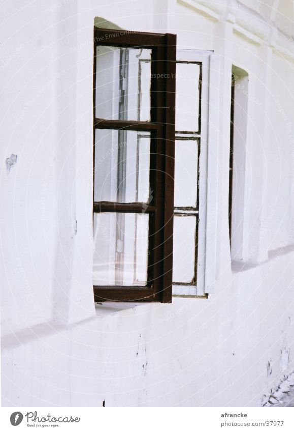 outlook Window House (Residential Structure) White Romania Wall (building) Architecture Graffiti