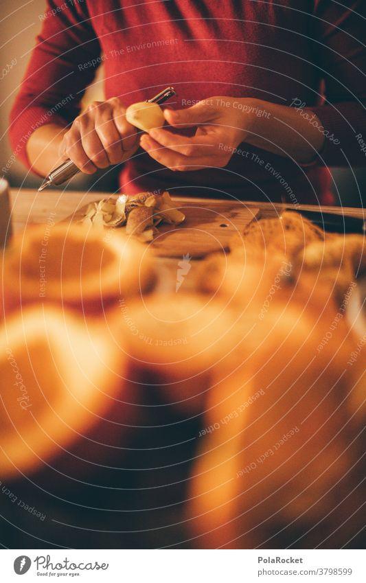 #A# Pumpkin Soup-Am-Tun II Close-up Food photograph Cooking Diet recipe Kitchen Prepare Dinner Pumpkin time Pumpkin soup Pumpkin seed Vegetarian diet Autumn