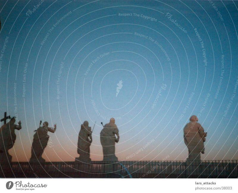 twilight of the gods Statue Twilight Mystic Deities Historic Sky Old town