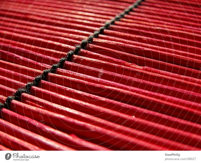 Red Black Leisure and hobbies Bamboo stick