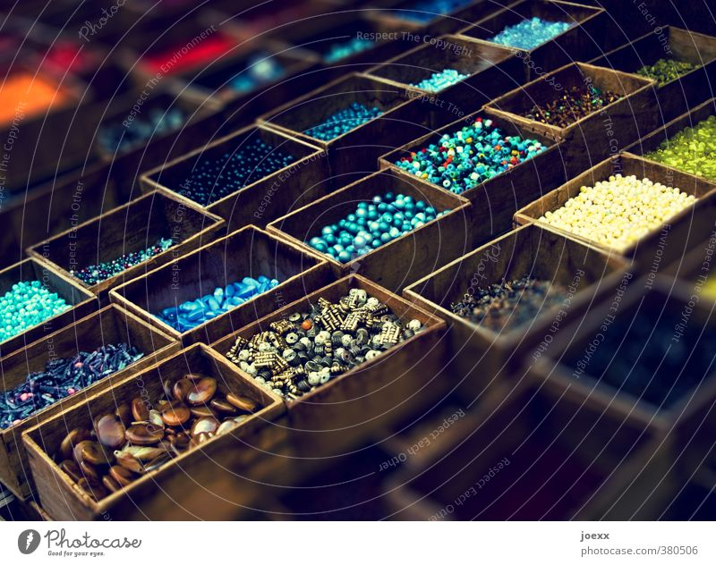 Wood and stone Collection Stone Old Beautiful Multicoloured healing stones Esotericism Wooden box Colour photo Interior shot Deserted Day Shadow Contrast