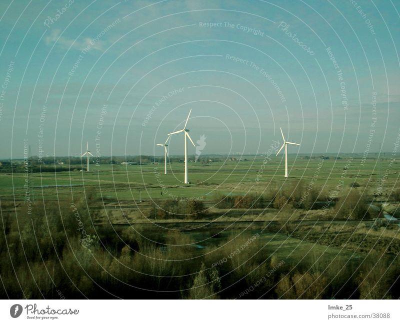 wind farm Wind energy plant Mill Meadow Science & Research Sky Landscape
