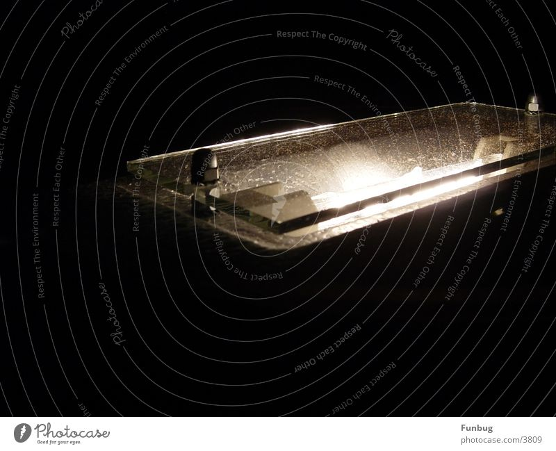 Lamp Dark Glass Decoration Living or residing Living room Screw Tin