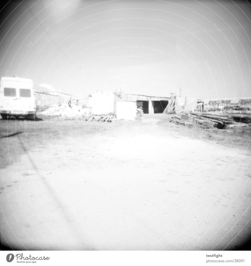holga lo-fi Holga Black White Portugal Overland route Caravan Transport Black & white photo Americas Landscape