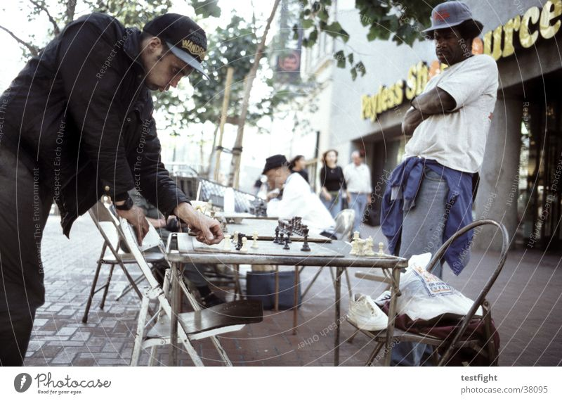 Human being City Street Playing Group Chess Board game San Francisco
