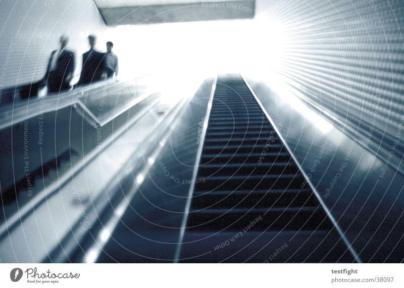Human being City Dark Movement Bright Transport Railroad USA Underground Americas London Underground Escalator Underpass San Francisco