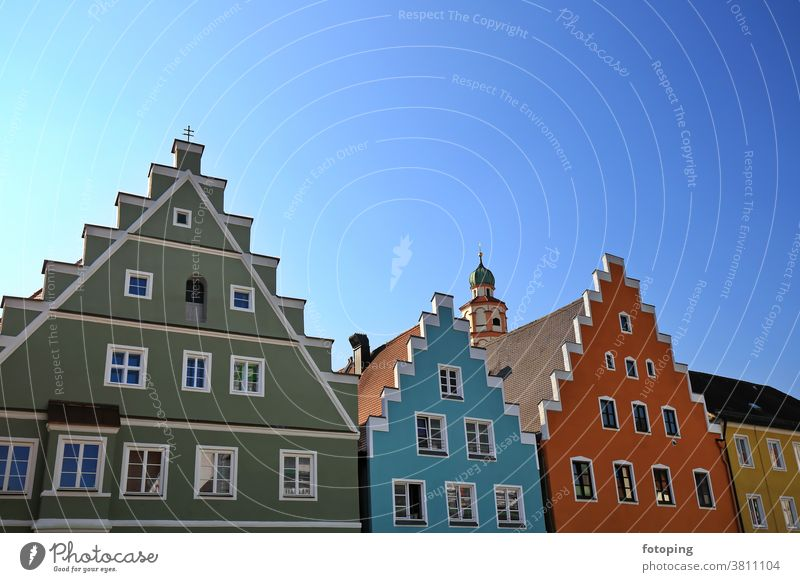 Skyline is a sight of Schrobenhausen Europe Germany Southern Germany Bavaria Upper Bavaria fotoping excursion excursion destination travel tourism sights