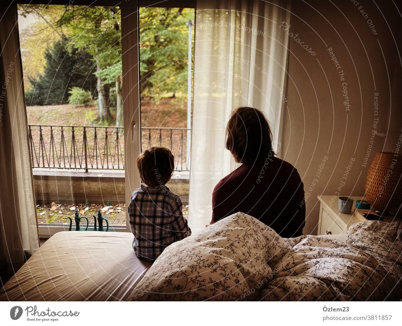Father and son talks Father with child Father and Child Paternity conversation communication relation Love paternal love Parents Parent with child parental love