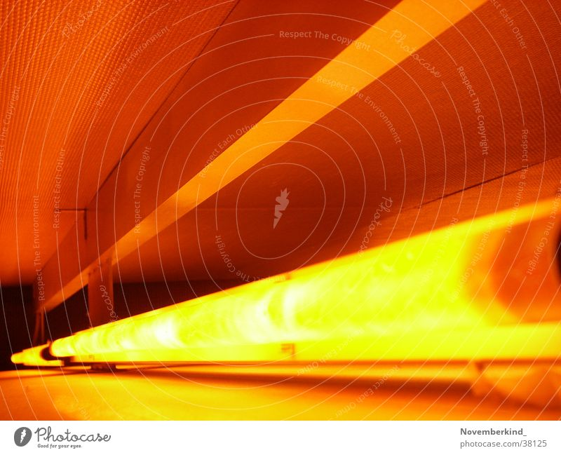 Red Lamp Orange Interior design Foyer Neon light Photographic technology