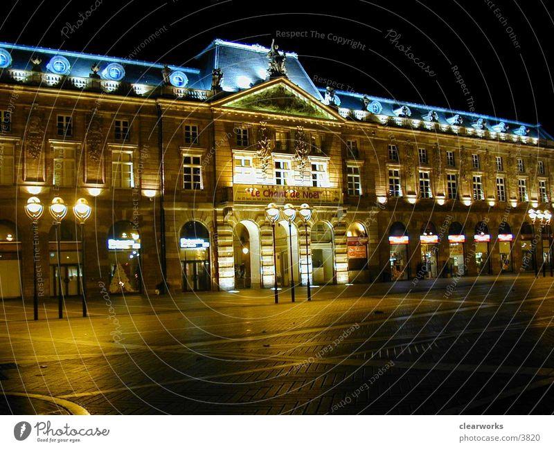 Strassbourg Light Moody Architecture