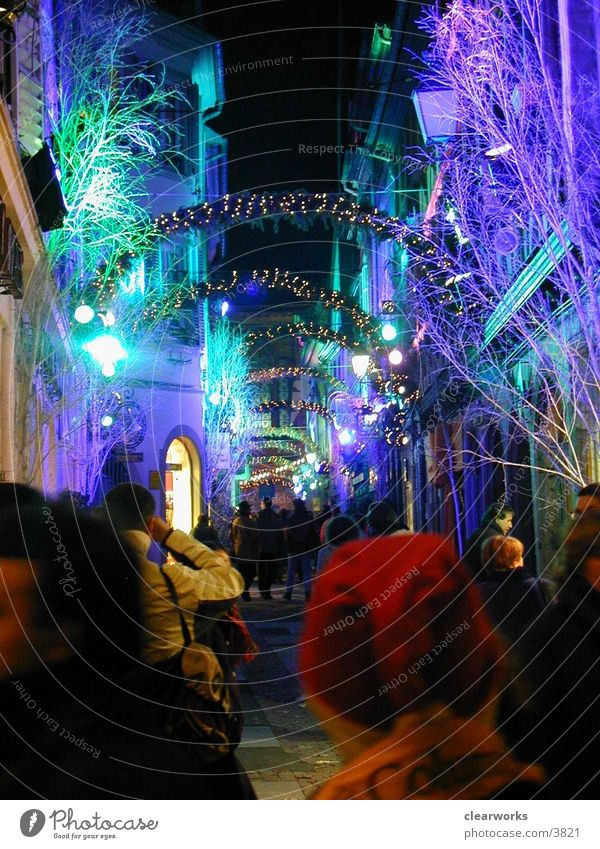 Strassbourg Light Moody Photographic technology Christmas & Advent