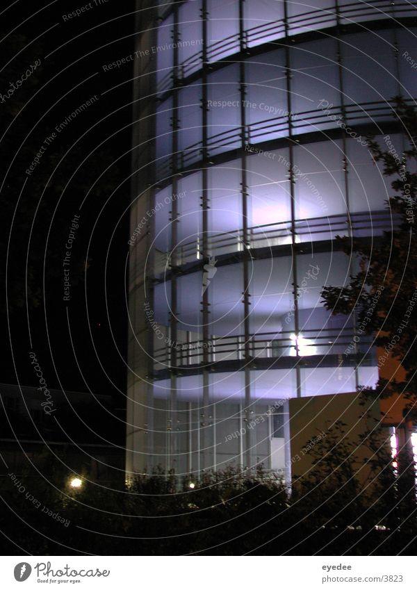 multi-storey car park Parking garage Night Architecture Blue
