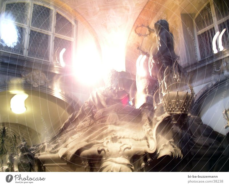crypt Vienna Light Back-light Sculpture Statue Leisure and hobbies imperial tomb Bright Floodlight Movement