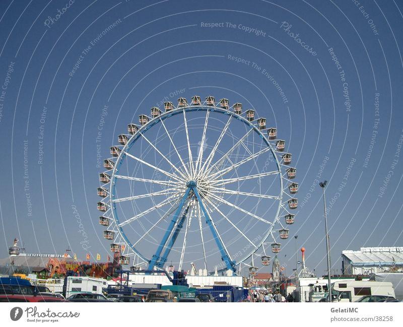 Europe Munich Fairs & Carnivals Ferris wheel Theresienwiese