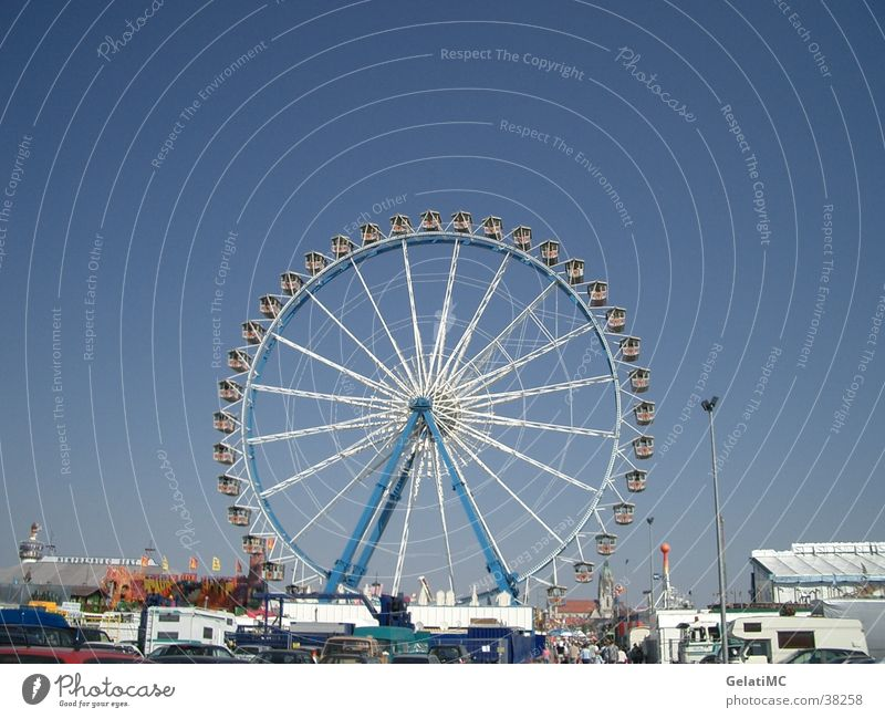 Oktoberfest Munich Ferris wheel Theresienwiese Europe Fairs & Carnivals
