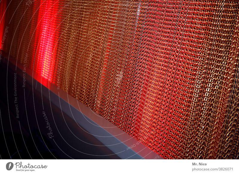 iron curtain Drape Light Room Screening Decoration Interior design Red Club Lounge Moody Bar Artificial light Cool (slang) Retro Hip & trendy Seventies