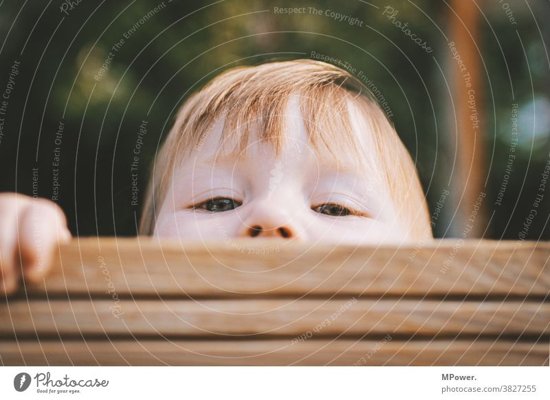 inquisitiveness Child Infancy Curiosity Hide Playing Human being Looking Looking into the camera Happiness 3 - 8 years portrait Brash Playground Colour photo