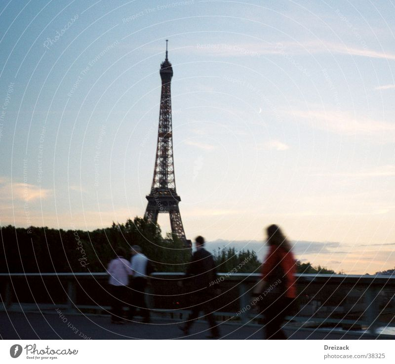 Moody Art Large Europe Landmark Paris Tourist Attraction Symbols and metaphors Eiffel Tower