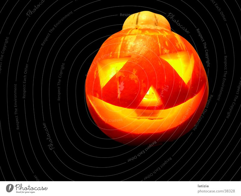 Lighting Healthy Hallowe'en Dress up Pumpkin Scare Graven
