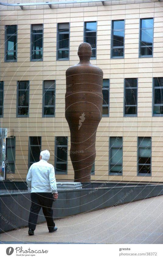 Power Architecture Glass Facade Modern Well Sculpture Amsterdam Netherlands