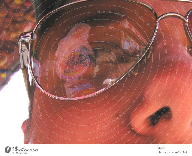 Man Nose Eyeglasses
