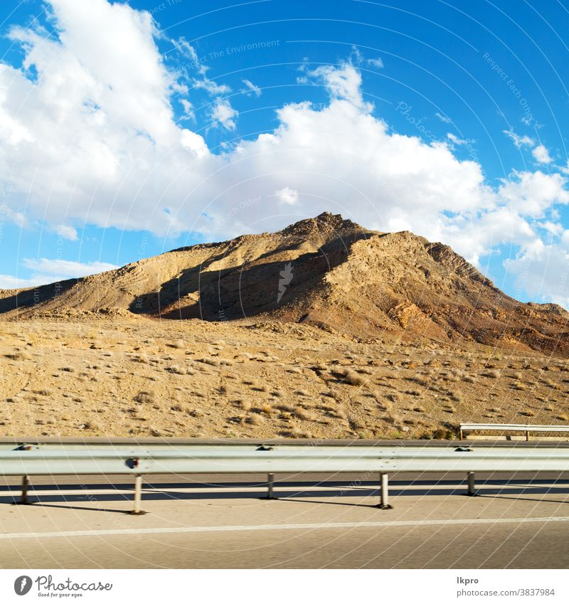 in iran  mountain landscape rock desert nature persia travel sky asia stone scenic hill valley tourism view road panorama green country scenery beautiful sand