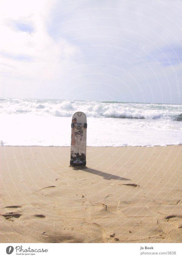 Ocean Beach Sand Waves Skateboarding Skateboard France Coil Photographic technology