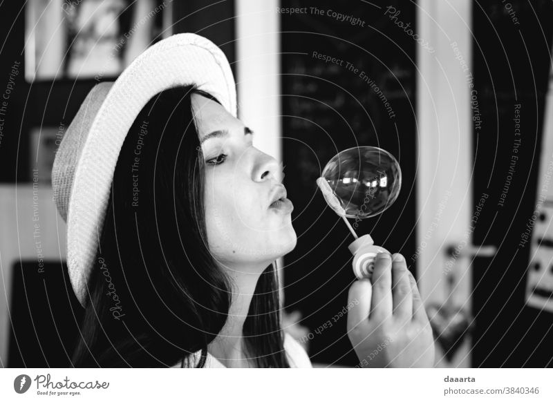 Ruta bubbly Portrait photograph Interior shot Black & white photo Culture Diva Daydreamer Authentic Honest Passion Romance Goodness Moody Emotions Positive Cute