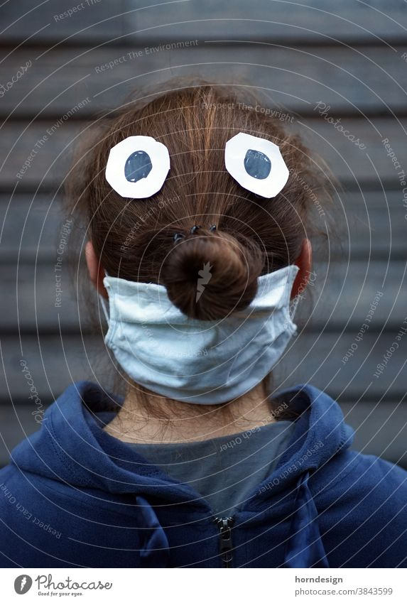 Tuber nose with mask Mask corona Protection coronavirus Risk of infection Illness Corona virus Healthy Contagious guard sb./sth. COVID prevention