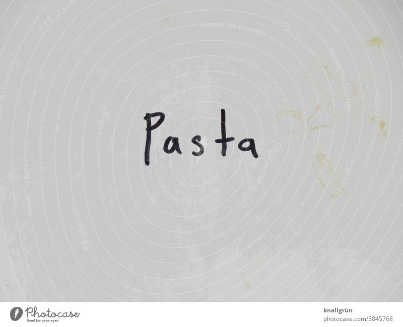 pasta Food Nutrition Graffiti Vegetarian diet Healthy Eating Organic produce Colour photo Vegan diet Studio shot Close-up Delicious Dough Self-made Lunch food