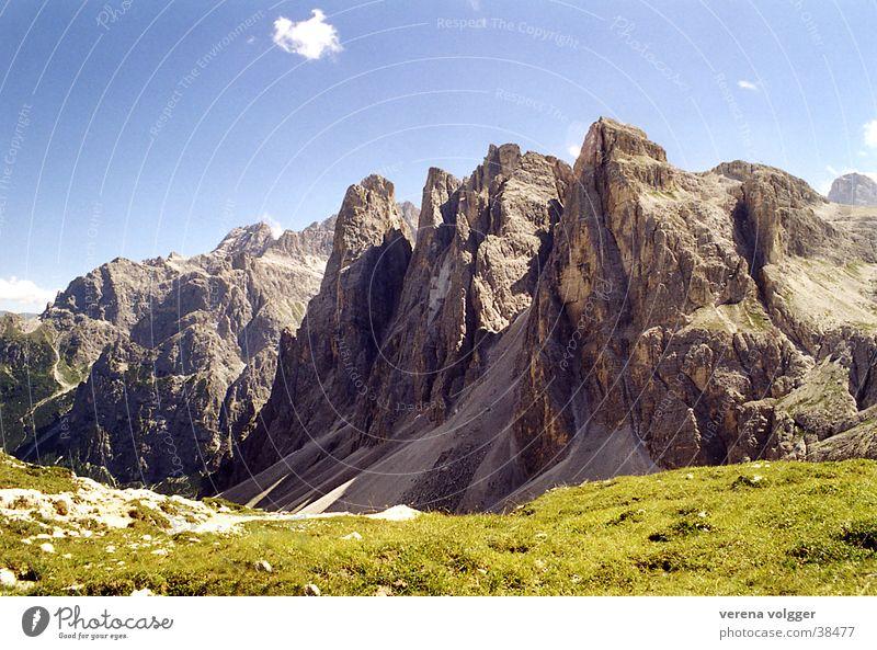 Dolomites Beautiful weather Mountain