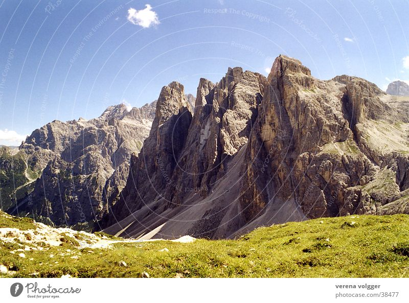 Mountain Beautiful weather Dolomites