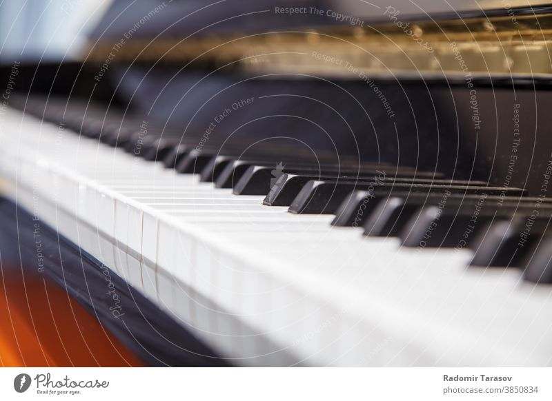 piano keyboard closeup black classical instrument music musical white art lines melody piano keys abstract background grand audio play ebony tone detail wood