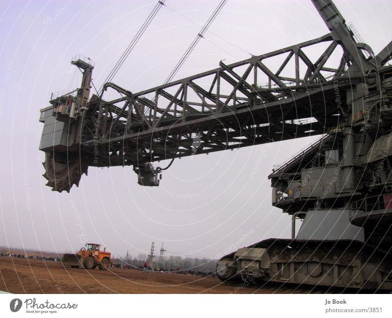 Largest bucket wheel excavator in the world Excavator Soft coal dredger Lignite Shovel Electrical equipment Technology Bucket wheel