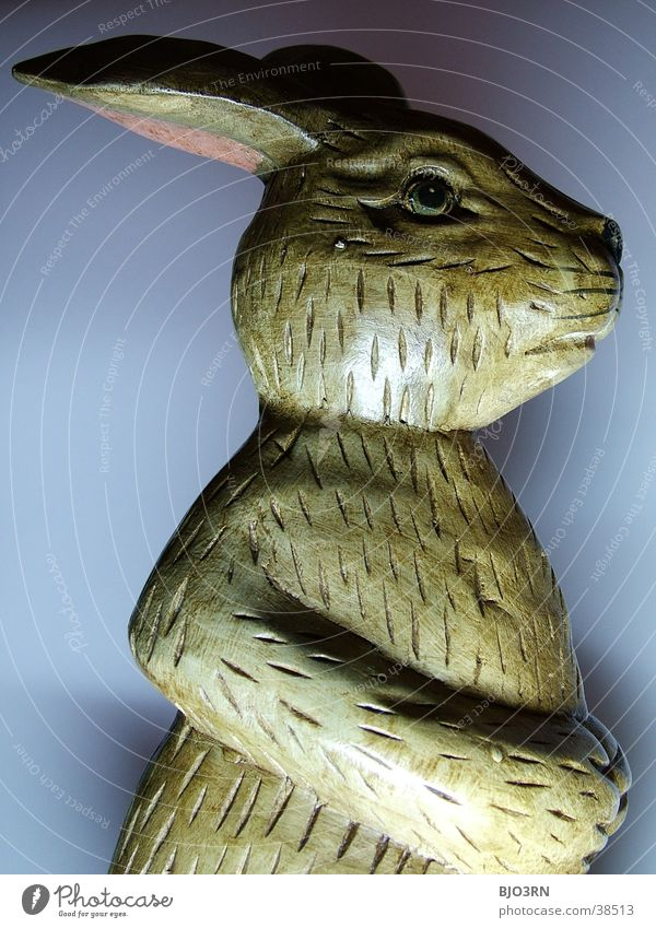 Nose Ear Kitsch Statue Hare & Rabbit & Bunny Easter Spoon Easter Bunny Odds and ends