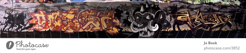 Graffiti Panorama Panorama (View) Style Photographic technology Large Panorama (Format)