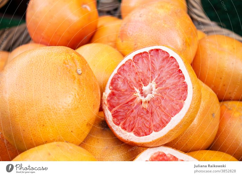 Cuts Orange Fruit Healthy Vitamin Nutrition Food Colour photo Organic produce Healthy Eating Vegetarian diet Vitamin C Food photograph Delicious Vitamin-rich
