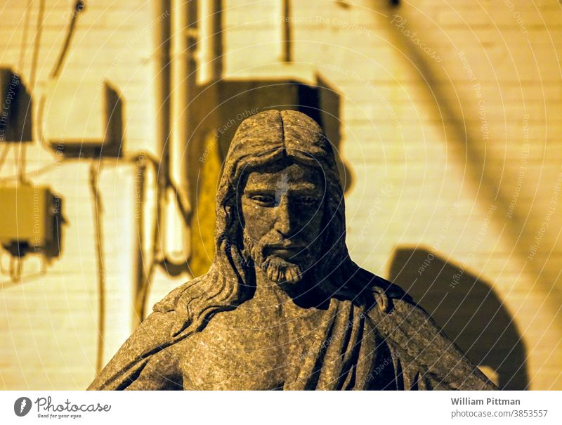 Statue of Jesus Jesus Christ jesus Religion and faith Belief God Symbols and metaphors symbolic religion Church Christianity Catholicism Colour photo