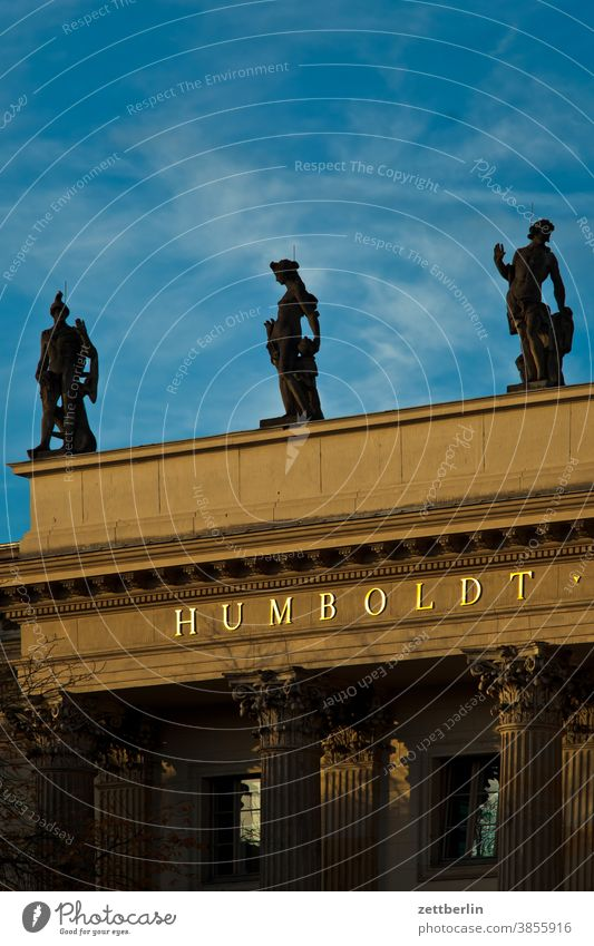 Humboldt University Architecture Berlin Office Germany Worm's-eye view Capital city House (Residential Structure) Sky downtown Middle Skyline Tourism