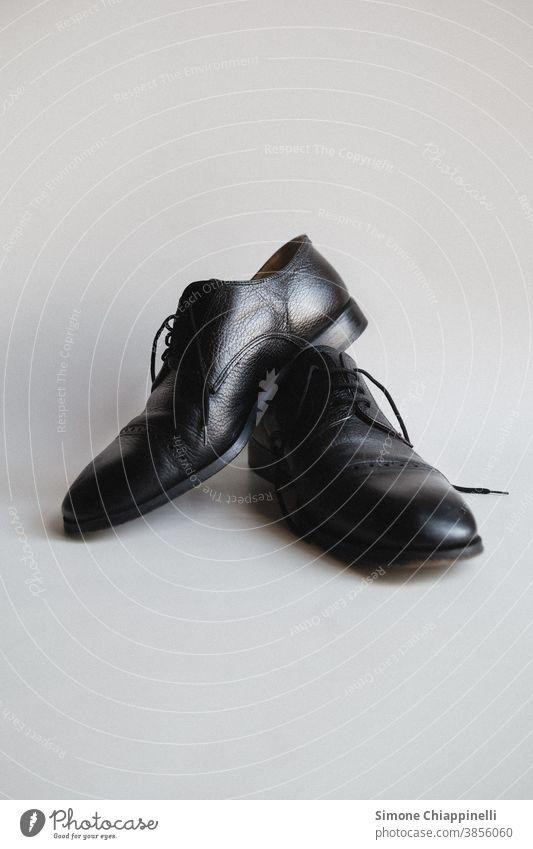 Black Fancy Shoes fancy shoes white background Footwear White Clothing Fashion Colour photo Interior shot male shoes