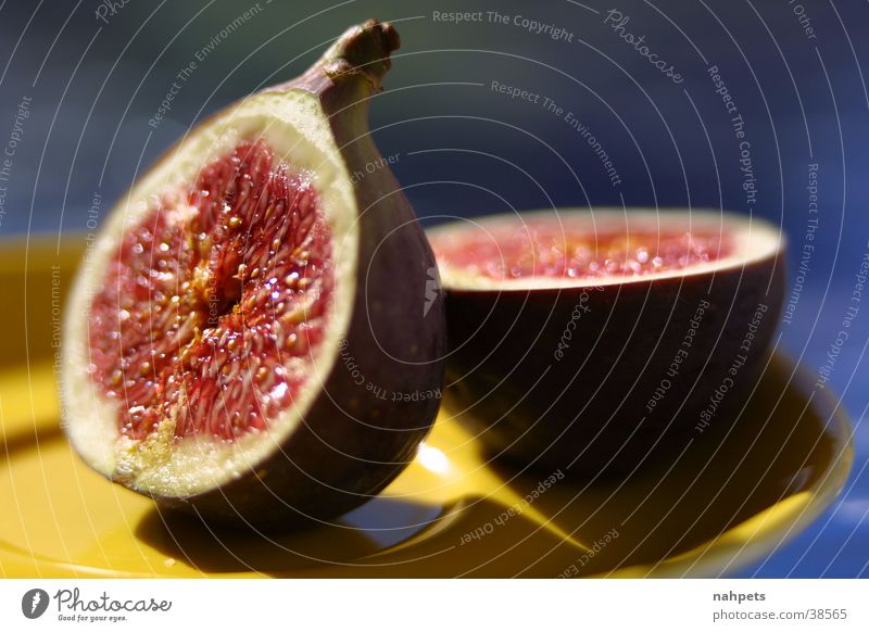Summer Healthy Fruit Still Life Dessert Fig