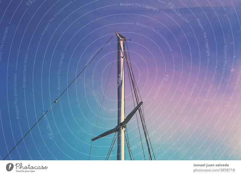 sailboat mast and blue sky ship sailing rigging vessel sea seaport tall nautical transportation rope masts ropes old travel marine water wind wood yacht ocean