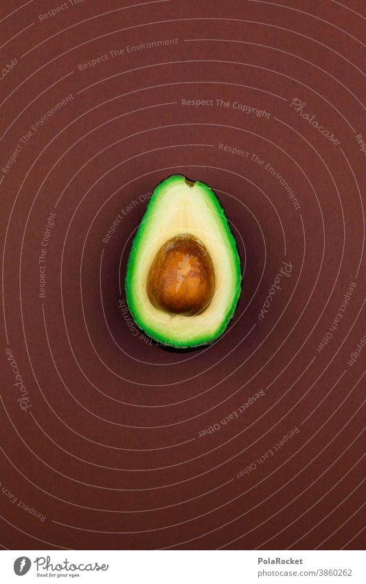 #A0# half avocado Avocado Avocado Seed guacamole Vegetarian diet Hip & trendy trendy food Delicious Healthy Eating