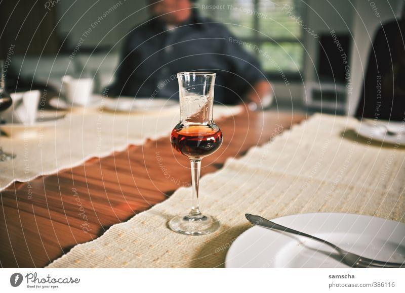 After the meal Beverage Drinking Alcoholic drinks Spirits Crockery Plate Glass Eating Schnaps glass Grappa Grappa glass Digestive system Meal Full Tabletop